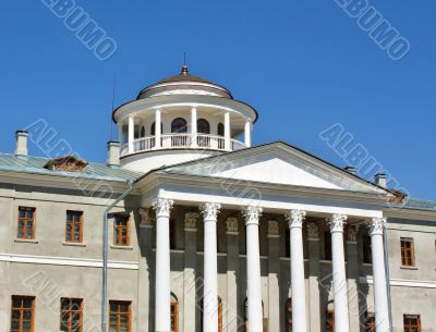 Main building of the estate near Moscow