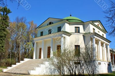 Building of the estate near Moscow
