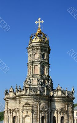 Orthodox church in the baroque style