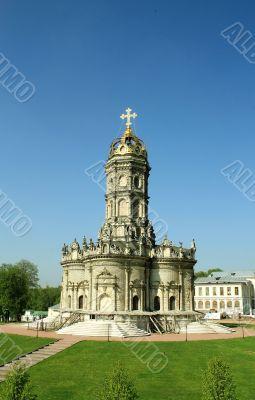 Orthodox church in baroque style