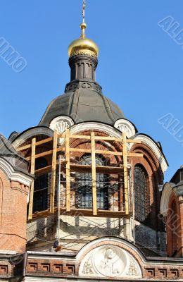 Orthodox church is under restoration