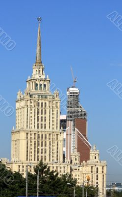 Ukraine Hotel building