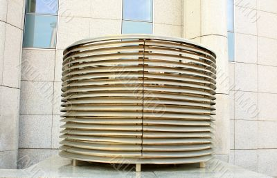 Vent pipes of modern building