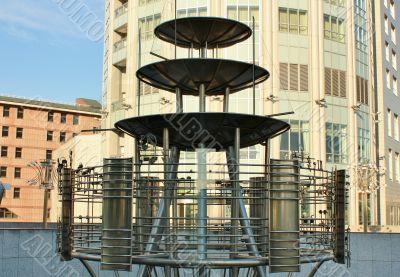 Decorative metal design