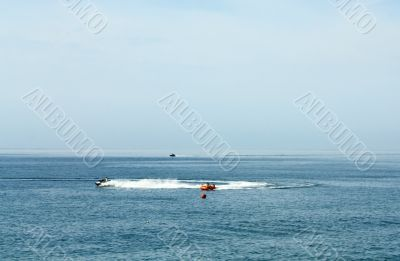 Marine boats amusement