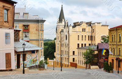 Andrew`s Descent in Kiev