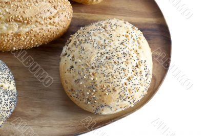buns with sesame seeds