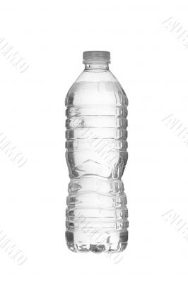 plastic bottle full of water