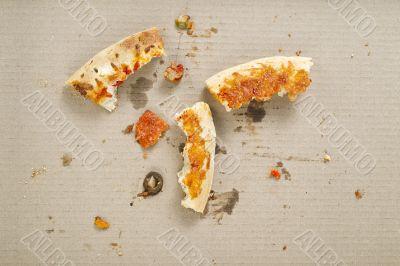 leftover pizza crust heel