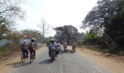 Indian traffic