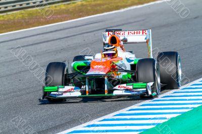 Team Force India F1, Nico Hülkenberg, 2012