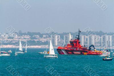 Maritime rescue ship Maria Zambrano