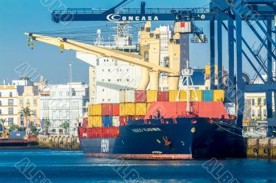 Cargo ship Fesco Vladimir
