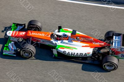 Team Force India F1, Nico Hülkenberg, 2012