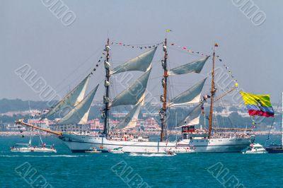 Ship Guayas