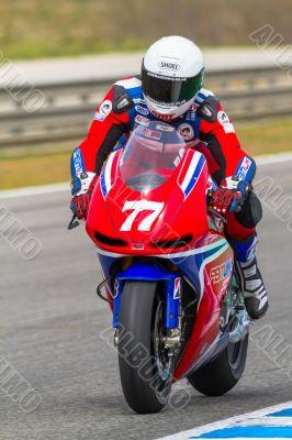 James Ellison pilot of MotoGP