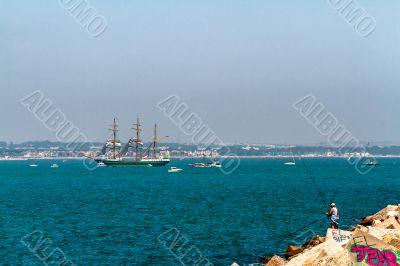 Ship Alexander Von Humboldt II
