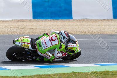 Hector Barbera pilot of MotoGP