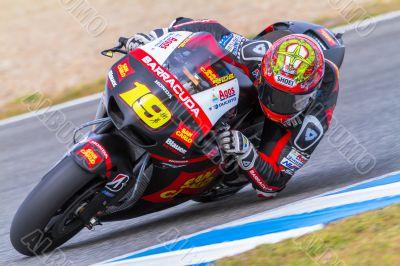 Alvaro Bautista pilot of MotoGP