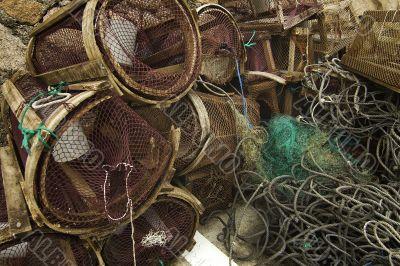 Creels and net fishing