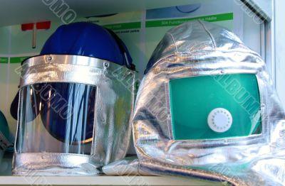 Anti-fire helmets