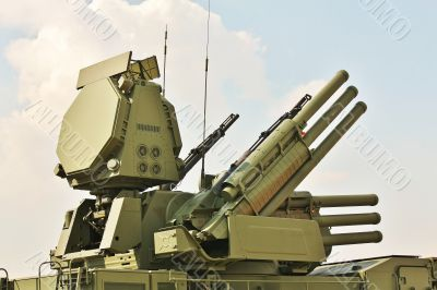 Weapons of anti-aircraft defense  ` Pantsir-S1`