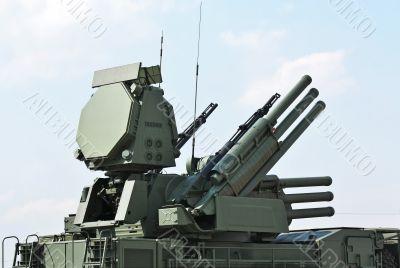 Weapons of anti-aircraft defense  ` Pantsir-S1`