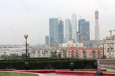 Rise in price of land in Moscow leads to the construction of hig