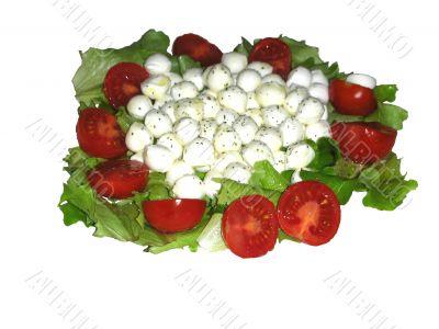Caprese Vegetarian Salad