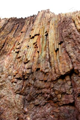 Lava rock in almeria Spain