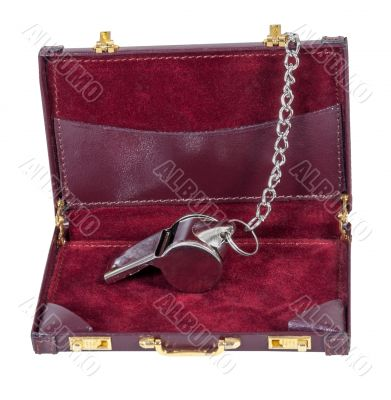 Sport Whistle in a Briefcase