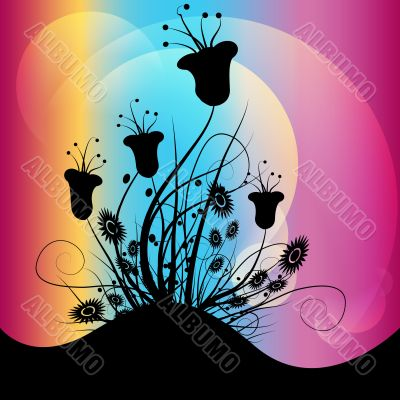 clip art of flowering plants