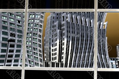 building reflection on