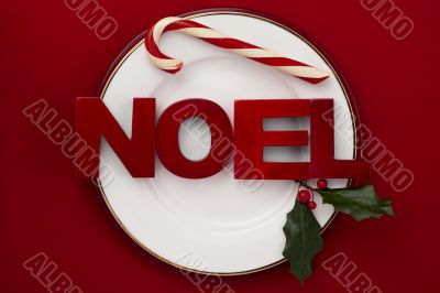 plate with holiday themes