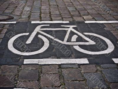 bicycle path-landscape