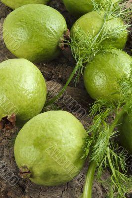 ripe guavas