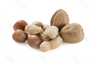walnut and peanuts
