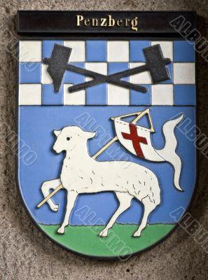 city arms--Penzberg