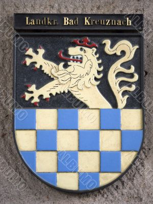city arms--Bad-Kreuznach