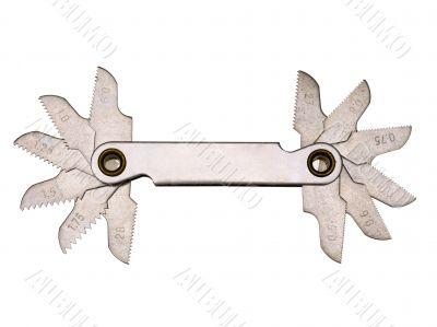 thread pitch gauge tool
