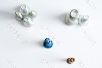 tops of screws