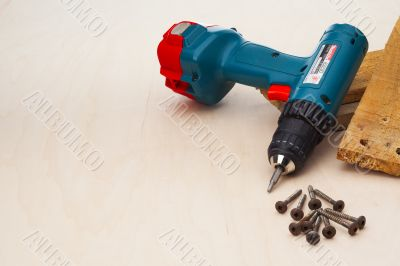 powerdrill with hardware