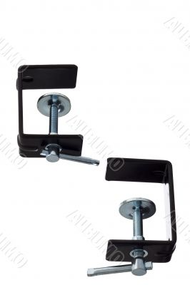 black clamps