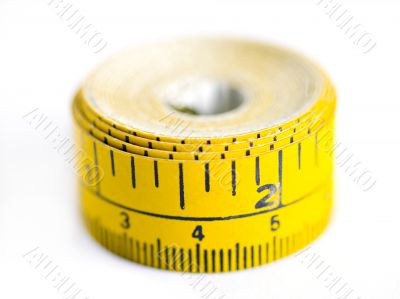 Up Close Measuring Tape