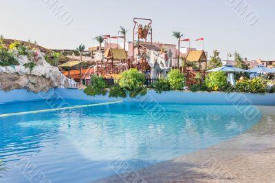 swimming pool in a beautiful setting