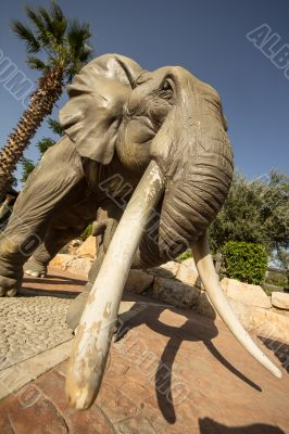 Statue of an African Elephant