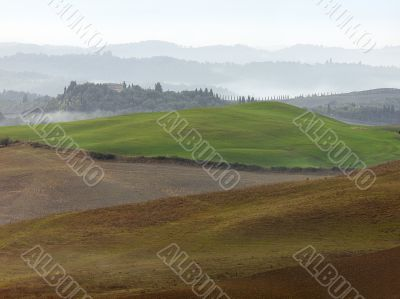 Beauty over Tuscan Hills