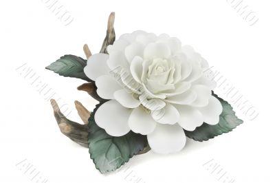 fake white flower