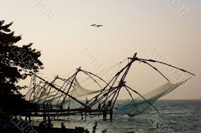 elaborate fishing nets