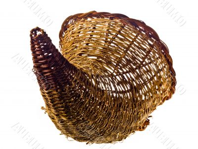 horn shape basket